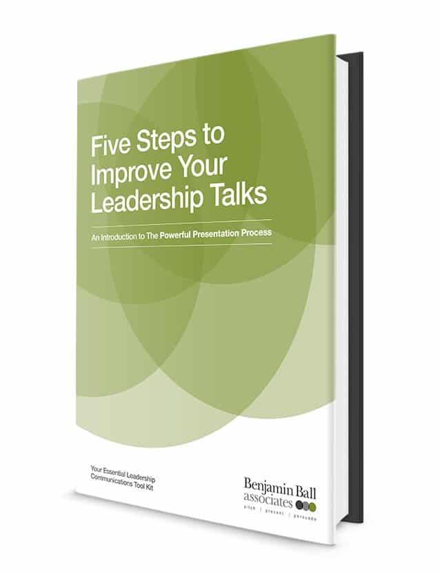 improve your leadership talks