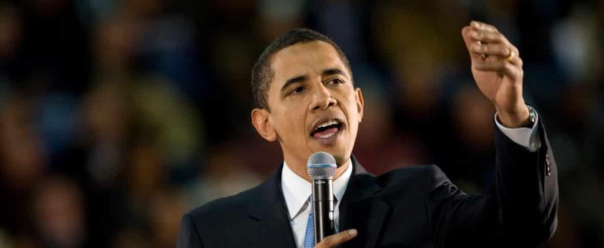 obama public speaking using rhetoric devices