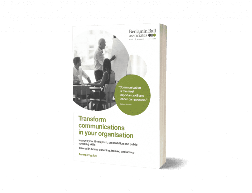 communications coaching in-house training catalogue
