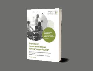communications coaching inhouse training catalogue